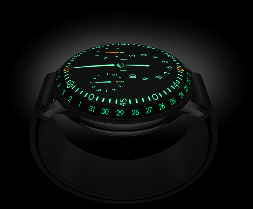Ressence Type 3 brings time to the surface – © Ressence bvba